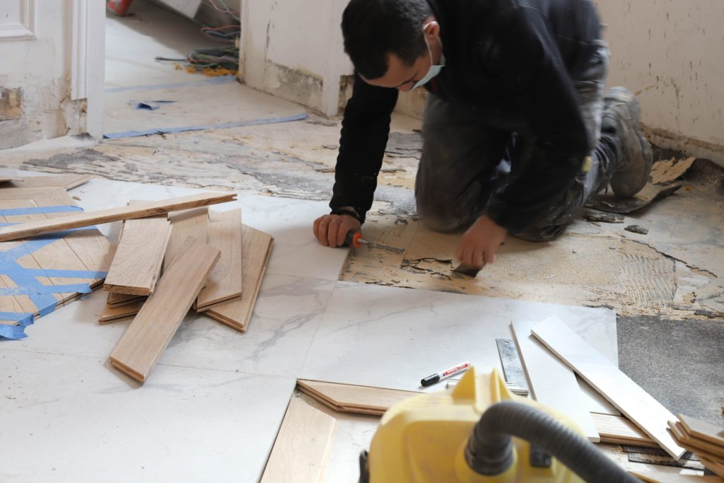 Rénovation de carrelage à Paris